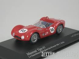 maserati tipo 61 riverside gp 1960 98 carrol shelby 1 43