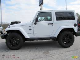 white jeep sahara 2012 jeep wrangler sahara arctic edition 4x4 in bright white photo