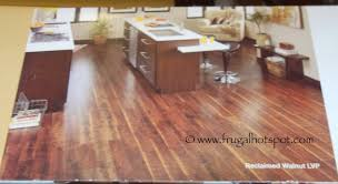 costco sale reclaimed walnut luxury vinyl plank floor tile 29 99
