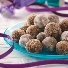 rum balls recipe taste of home