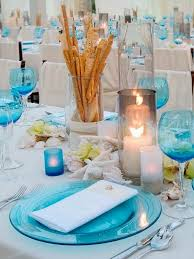 wedding tables beach wedding centerpiece ideas on a budget beach