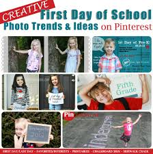 pintrest trends creative first day of school photo trends and ideas on pinterest