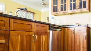 Paint Or Reface Kitchen Cabinets Should I Paint Or Refinish My Kitchen Cabinets Angie U0027s List