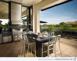 Outdoor Kitchen Ideas 15 Awesome Contemporary Outdoor Kitchen Designs Home Design Lover
