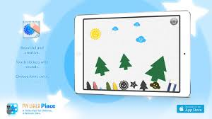 paint stickers by my little place ipad app for children for