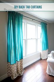 How To Hang A Drapery Scarf by Diy Back Tab Curtains I Heart Nap Time