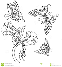 julie orr design only staircase idea flower and butterfly drawing