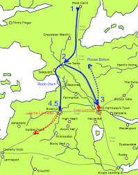 Game Of Thrones Google Map Game Of Thrones Why Didn U0027t Robb Stark March His Men Down The