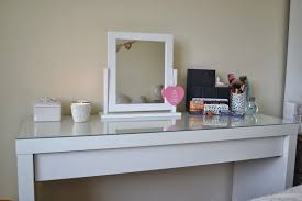 Glass Vanity Table With Mirror Ikea Dressing Table With Glass Top Inspiration Ikea Malm Dressing
