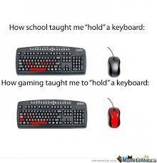 Keyboard Meme - how to use a keyboard by eye5755 meme center