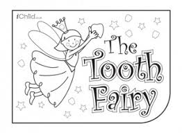 tooth fairy colouring printable tooth fairy