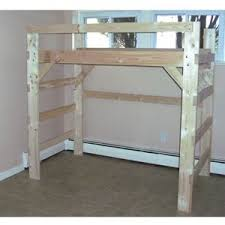Solid Wood Loft Bed Plans by 64 Best Loft Beds Images On Pinterest 3 4 Beds Lofted Beds And