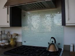fusion glass backsplash with custom steel supports brooks custom