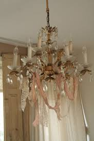 Girly Chandeliers For Cheap 331 Best Shabby Chic Lamps U0026 Chandeliers Images On Pinterest