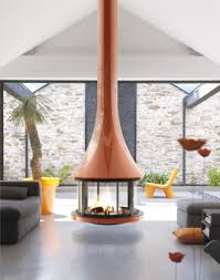 fascinating and great orb fireplace designed for household