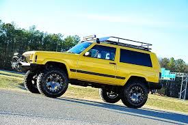 jeep lifted 2 door davis autosports very rare 2 door cherokee sport xj for sale