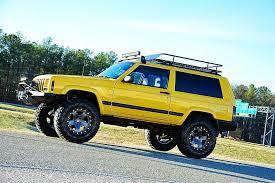 jeep xj lifted davis autosports very rare 2 door cherokee sport xj for sale