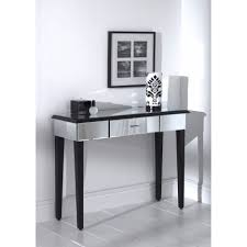 Venetian Mirrored Console Table Console Tables Small Venetian Mirror Dressing Table Glass