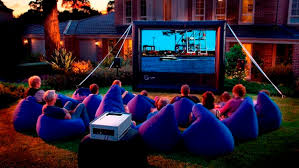 Backyard Outdoor Theater by Handitheatre Is An Inflatable Cinema For Your Backyard Gizmodo