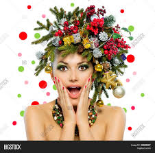 christmas woman beautiful new year image u0026 photo bigstock