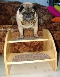 valli step wood dog stairs u2013 pug store