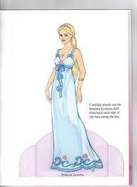 princess leonora paper doll 2 9 eileen rudisill miller