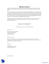 Business Email Letter Sample by Business Letter Samples Business Communication Lecture Handout