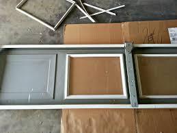garage doors amarr long panel garageoor with solid windows gives
