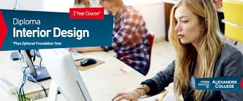 diploma in interior design alexander college university of the