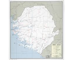 Map Of Sierra Leone Maps Of Sierra Leone Detailed Map Of Sierra Leone In English
