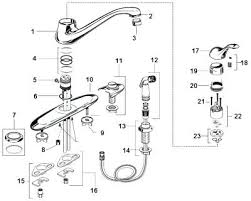 kohler kitchen faucet parts kitchen sink faucet parts spiritofsalford info