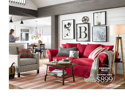 Small Space Big Style Pottery Barn Sectionals Small Spaces Barn Decorations
