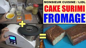 lidl recettes de cuisine cake surimi fromage avec monsieur cuisine silvercrest lidl recette