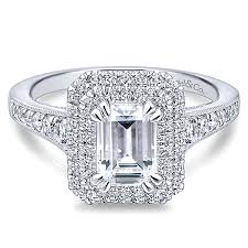 square style rings images 14k white gold emerald cut double halo engagement ring er12650 jpg