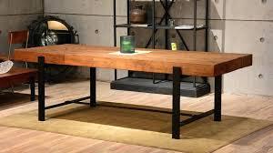 Industrial Dining Room by Rustic Modern Dining Room Tables U2013 Mitventures Co