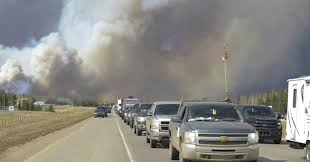 Largest Wildfire In Alberta History by Wildfires Cause Chaos In Canada Oil Sands Town
