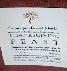 homemade thanksgiving invitations bootsforcheaper com