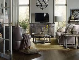 Vintage Livingroom Hooker Furniture Living Room Vintage West Rectangle End Table 5700