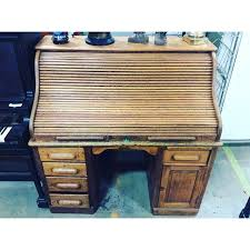 antique oak roll top desk the regeneration station