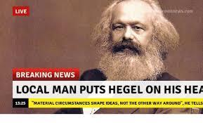 Breaking News Meme - live rownne wscom breaking news local man puts hegel on his hea