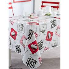 toile de cuisine nappe en toile cirée rectangulaire 140x200 cm cafetiere cuisine