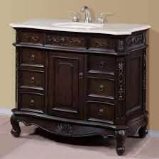 40 In Bathroom Vanity by Perla Collection 40 Inch Single Bath Vanity Set