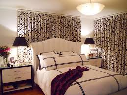 Beautiful Window Treatments For Bedrooms HGTV - Bedroom curtain design ideas