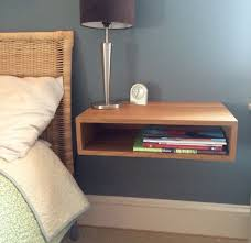 nightstand ideas simple small floating nightstand ideas design 3 simple floating