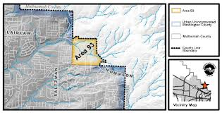Map Of Beaverton Oregon by Bonny Slope West