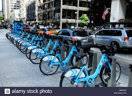 divvy chicago map divvy bicycle rental station on washington in chicago stock