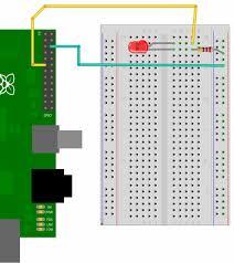 rasberry pi gpio examples 1 a single led gordons projects