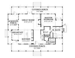 allison ramsey architects floorplan for bay point cottage 2339 first floor