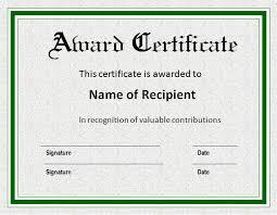 sample award certificate award certificate samples 50 amazing