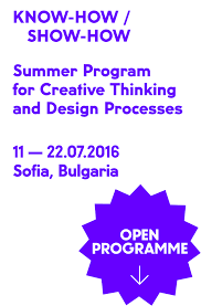 Home And Design Show 2016 Know How Show How U2013 Summer Programm For Creative Thinking And